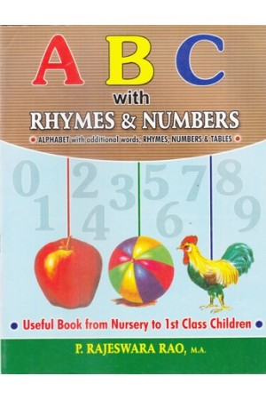 A B C with Rhymes & Numbers