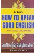 How to Speak Good English
